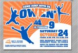 Http Urban Air Trampoline Park Download Birthday Party Invitations Trampoline Park Birthday Party Invitations Invitation
