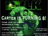 Hulk Birthday Party Invitation Template Bagvania Free Printable Invitation Template