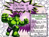 Hulk Birthday Party Invitation Template Hulk Party Invitations Mickey Mouse Invitations Templates