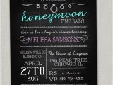 Humorous Bridal Shower Invitation Wording Chalkboard Lingerie Shower Invitations Bachelorette Party