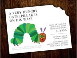 Hungry Caterpillar Baby Shower Invitations Hungry Caterpillar Baby Shower Invitation Printable Digital