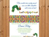 Hungry Caterpillar Baby Shower Invitations Items Similar to Digital 5×7 Very Hungry Caterpillar Baby