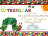 Hungry Caterpillar Baby Shower Invitations Very Hungry Caterpillar Custom Baby Shower Invitation You