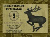 Hunting Birthday Party Invitations Hunting Birthday Party Invitation Printable by Photogreetings