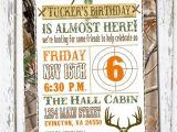 Hunting Birthday Party Invitations Hunting theme Birthday Invitation