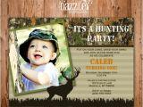 Hunting Birthday Party Invitations Printable Kids Camo Hunting Birthday Invitation Mossy