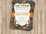 Hunting themed Baby Shower Invitations Camo Baby Shower Invitations