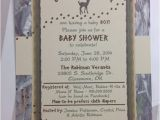 Hunting themed Baby Shower Invitations Hunting theme Baby Shower Invitation Outdoor by