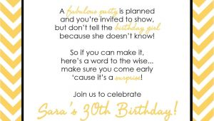 Husband Birthday Invitation Wording Wording for Surprise Birthday Party Invitations Drevio