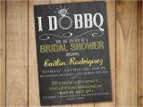 I Do Bbq Bridal Shower Invitations I Do Bbq Bridal Shower Invitation Template Chalkboard