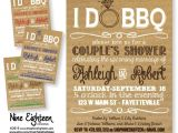 I Do Bbq Bridal Shower Invitations I Do Bbq Couples Shower Barbeque Bridal Shower by