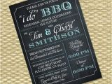 I Do Bbq Wedding Reception Invitations I Do Bbq Invitation Rehearsal Dinner Wedding Bridal