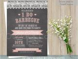I Do Bbq Wedding Reception Invitations I Do Bbq Wedding Invitation Printable Wedding Invitations Wood