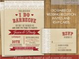 I Do Bbq Wedding Reception Invitations I Do Bbq Wedding Reception Invitation Rustic I by