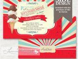 Ice Cream Baby Shower Invitations Ice Cream Baby Shower Invitation Ice Cream by