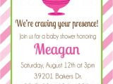 Ice Cream Baby Shower Invitations Pickles and Ice Cream Baby Shower Invitation