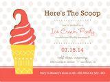 Ice Cream Party Invitations Printable Free 4 Best Images Of Free Printable Ice Cream social Invites