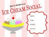 Ice Cream Party Invitations Printable Free Free Printable Ice Cream social Invite Busy Mommy Media