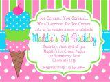 Ice Cream Party Invitations Wording Ice Cream Party Invitations Party Invitations Templates