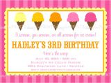Ice Cream Party Invitations Wording Ice Cream social Printable Party Invitation Dimple