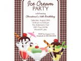 Ice Cream Sundae Party Invitations 276 Ice Cream Sundae Invitations Ice Cream Sundae