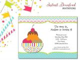 Ice Cream Sundae Party Invitations Ice Cream Sundae Invitation Kids Birthday Printable