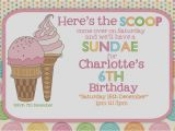 Ice Cream Sundae Party Invitations Photography by Michelle Invites Cards