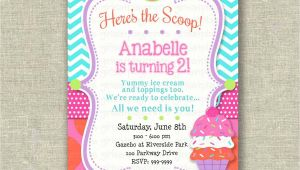Ice Cream theme Party Invitations Ice Cream Party Invitations Party Invitations Templates