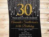 Ideas for 70th Birthday Party Invitations Black and Gold Birthday Invitations Looking Design Unique