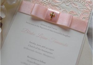 Ideas for Baptism Invitations 1000 Ideas About Christening Invitations On Pinterest