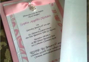 Ideas for Baptism Invitations Baptism Invitation 2