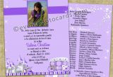 Ideas for Quinceanera Invitations Purple Princess Quinceanera Invitations Sweet 15