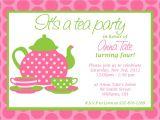 Images Of Tea Party Invitations Custom Printable Tea Party Invitation
