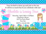 Images Of Tea Party Invitations Printable Birthday Invitations Girls Tea Party