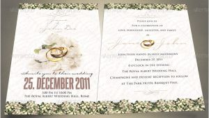 Indesign Wedding Invitation Template 37 Awesome Psd Indesign Wedding Invitation Template