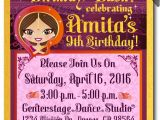 Indian Birthday Party Invitations Bollywood Party Birthday Invitations Bollywood Birthday