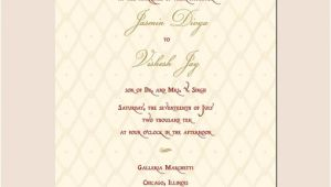 Indian Wedding Invitation Template Indian Wedding Invitation Template Shaadi