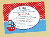 Inexpensive Baby Shower Invites Nautical Baby Shower Invitations Cheap