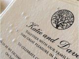 Inexpensive Plantable Wedding Invitations Enchanted Tree Plantable Wedding Invitations Seed Paper