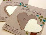 Inexpensive Plantable Wedding Invitations Herb Rustic Wedding Favor Plantable Seed Wedding Favors