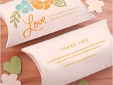 Inexpensive Plantable Wedding Invitations Plantable Wedding Favor Pillow Boxes Plantable Seed