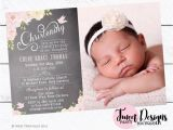 Infant Baptism Invitations Christening Invitations Baptism Invitation Print