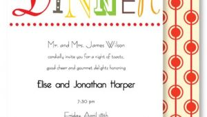 Informal Party Invitation Wording Informal Dinner Party Invitation Wording Cimvitation