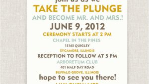 Informal Wedding Invitation Templates 10 Funny and Inspiring Informal Wedding Invitation Wordings
