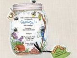 Insect Birthday Party Invitations 30 Bug Jar Birthday Party Invitations Summer Birthday