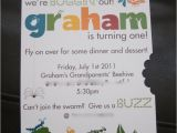 Insect Birthday Party Invitations Invitations Party Bugs Pinterest