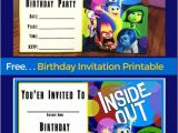 Inside Out Party Invitations Vice Versa Le Monde D 39 is