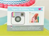 Instagram Party Invitations Cute Clever Instagram Birthday Party Logos Instagram