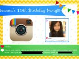Instagram Party Invitations Second Chances Girl A Miami Family and Lifestyle Blog