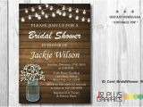 Instant Download Bridal Shower Invitations Instant Download Bridal Shower Invitation Printable Rustic